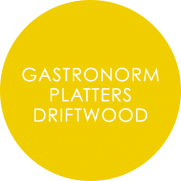 Catering Tableware-Driftwood Overlay