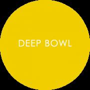 Deep bowl - melamine tableware roundel