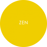 Zen - melamine tableware roundel