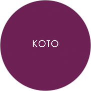 koto catering plates roundel