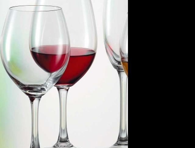 Stemware - catering wine glasses