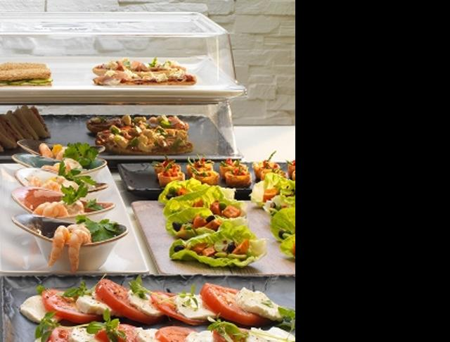 driftwood catering tableware