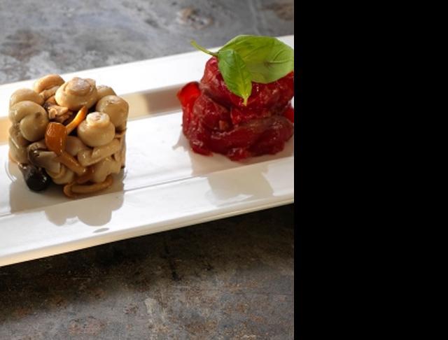 frame catering tableware