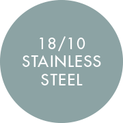 18/10 Stainless Steel