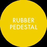 Rubber Pedestal