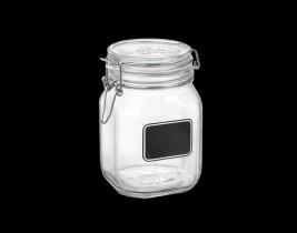 Fido Chalkboard Jar  4949Q463