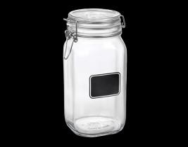 Fido Chalkboard Jar  4949Q464