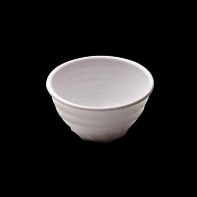 Round Bowl, White