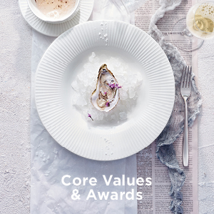 Awards & Core Values